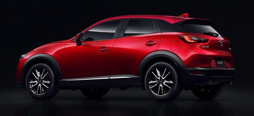 Mazda CX-3 – new B-segment SUV officially unveiled Image #289194