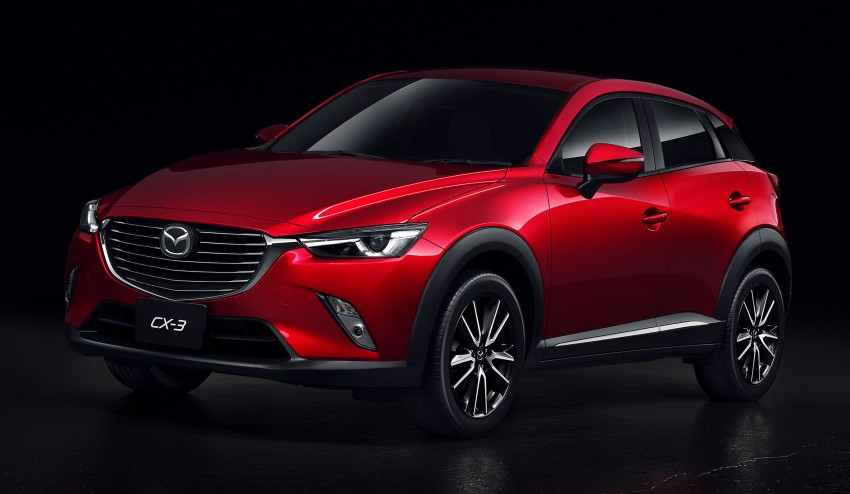 Mazda CX-3 – new B-segment SUV officially unveiled Image #289195