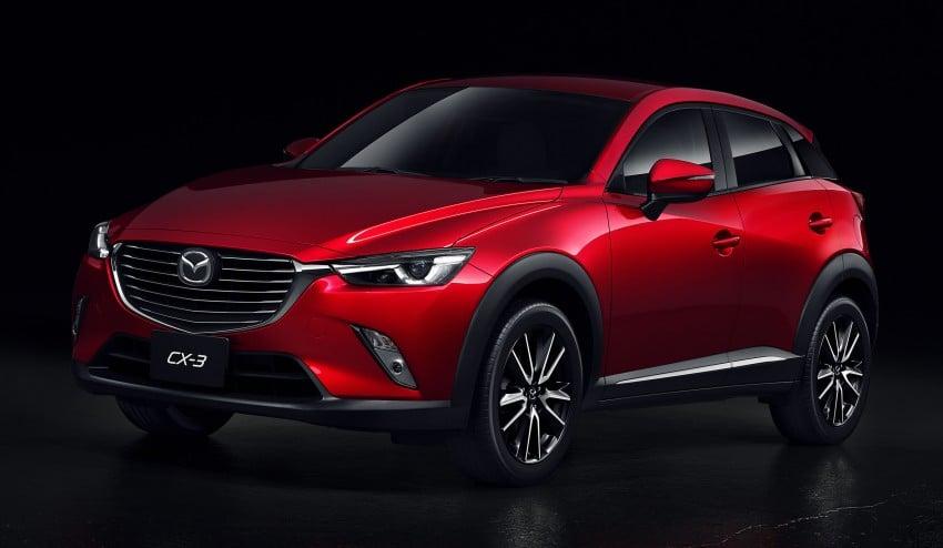 Mazda CX-3 – new B-segment SUV officially unveiled Image #289195