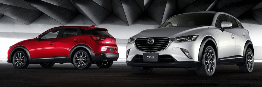 Mazda CX-3 – new B-segment SUV officially unveiled Image #289197