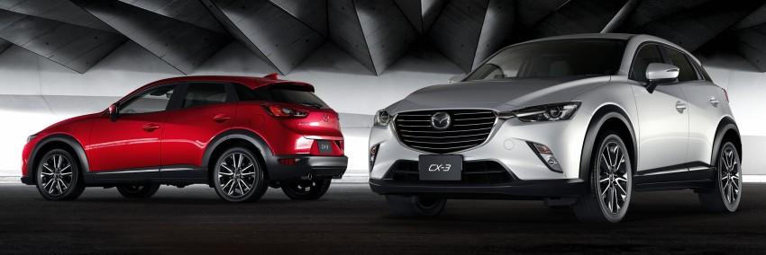 Mazda CX-3 – new B-segment SUV officially unveiled Image #289197