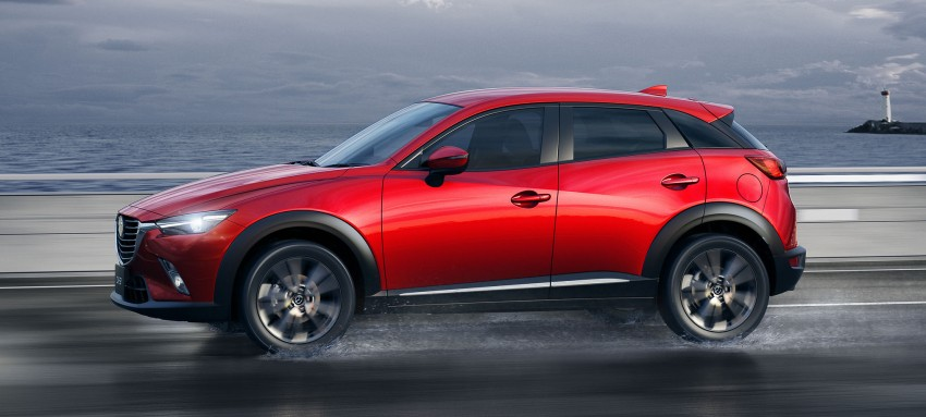 Mazda CX-3 – new B-segment SUV officially unveiled Image #289198