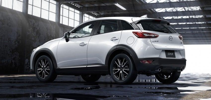 Mazda CX-3 – new B-segment SUV officially unveiled Image #289199