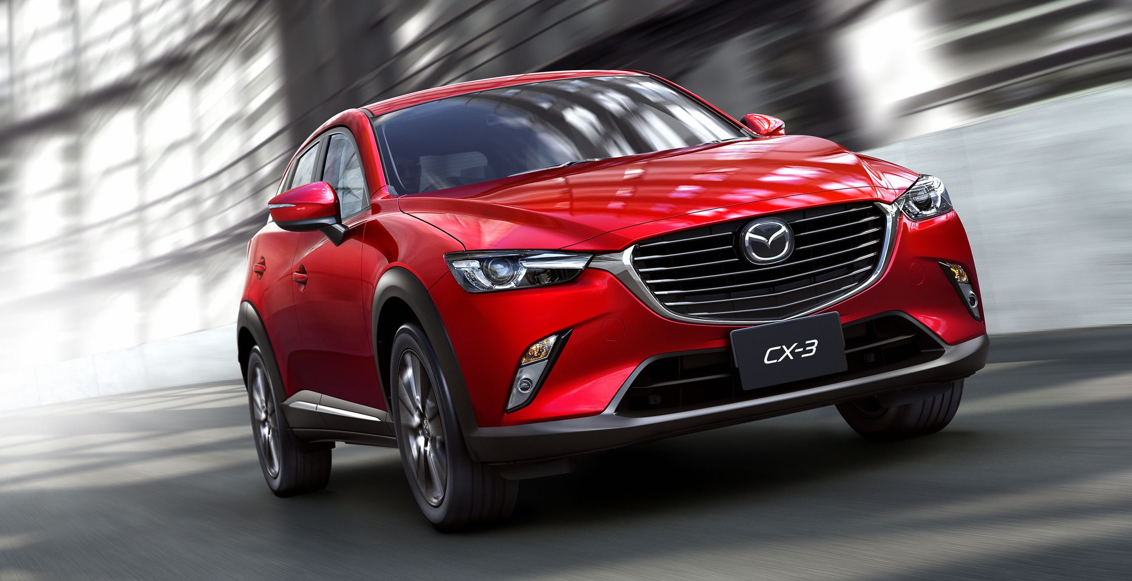 mazda cx 3 new b segment suv officially unveiled image 289200. Black Bedroom Furniture Sets. Home Design Ideas