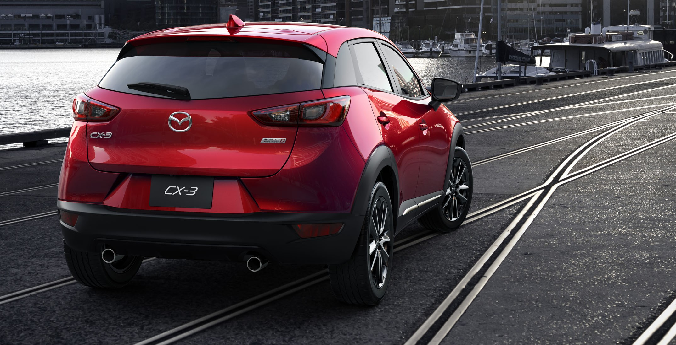 mazda cx 3 new b segment suv officially unveiled image 289201. Black Bedroom Furniture Sets. Home Design Ideas