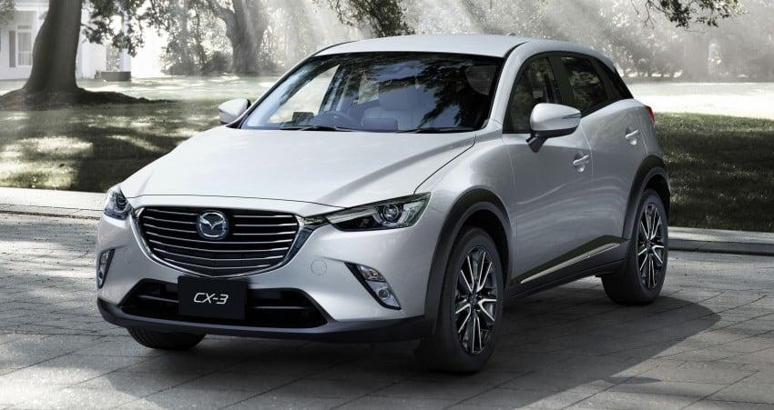 Mazda CX-3 – new B-segment SUV officially unveiled Image #289203