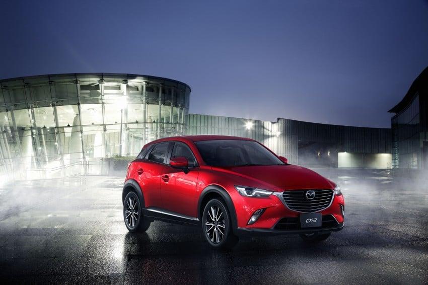 Mazda CX-3 – new B-segment SUV officially unveiled Image #289206