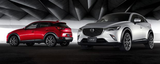 Mazda CX-3 – new B-segment SUV officially unveiled Image #289207