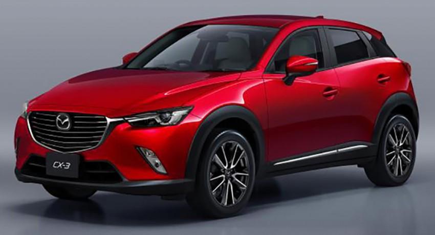 Mazda CX-3 – new B-segment SUV officially unveiled Image #289209