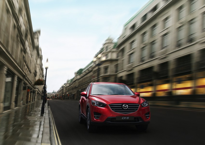 Mazda CX-5 facelift appears at LA with minor upgrades Image #289622