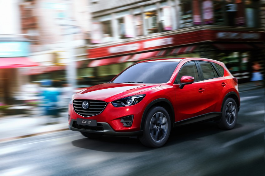 Mazda CX-5 facelift appears at LA with minor upgrades Image #289621