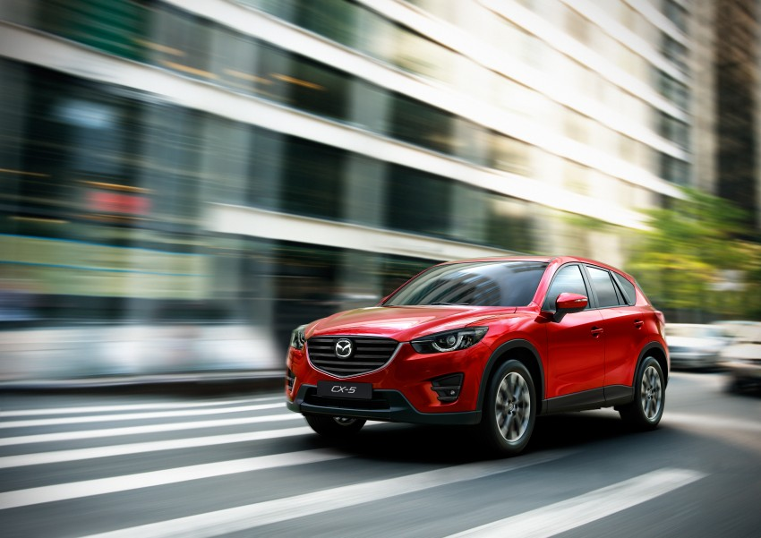 Mazda CX-5 facelift appears at LA with minor upgrades Image #289616