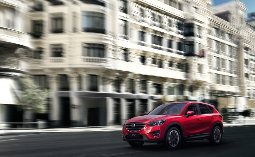 Mazda CX-5 facelift appears at LA with minor upgrades Image #289617