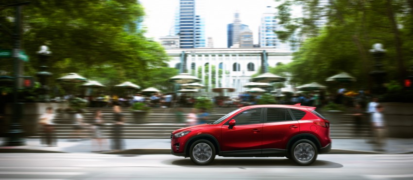 Mazda CX-5 facelift appears at LA with minor upgrades Image #289620