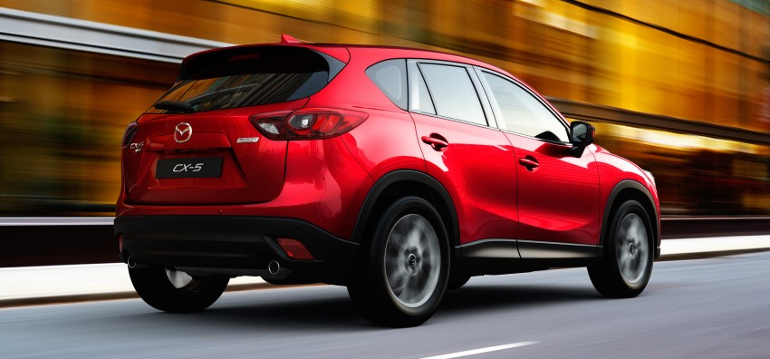 Mazda CX-5 facelift appears at LA with minor upgrades Image #289618