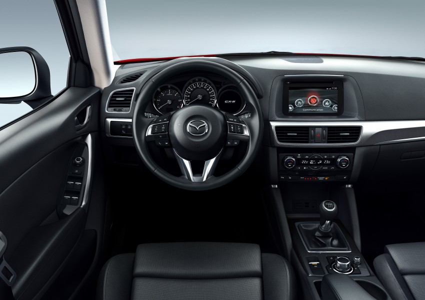 Mazda CX-5 facelift appears at LA with minor upgrades Image #289632