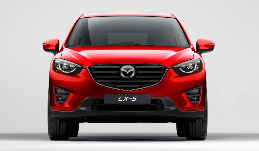 Mazda CX-5 facelift appears at LA with minor upgrades Image #289654