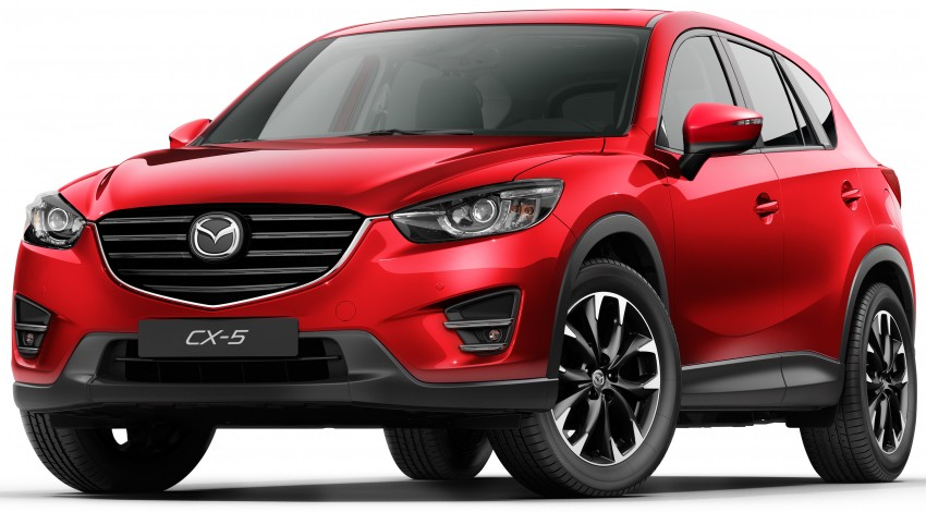 Mazda CX-5 facelift appears at LA with minor upgrades Image #289652