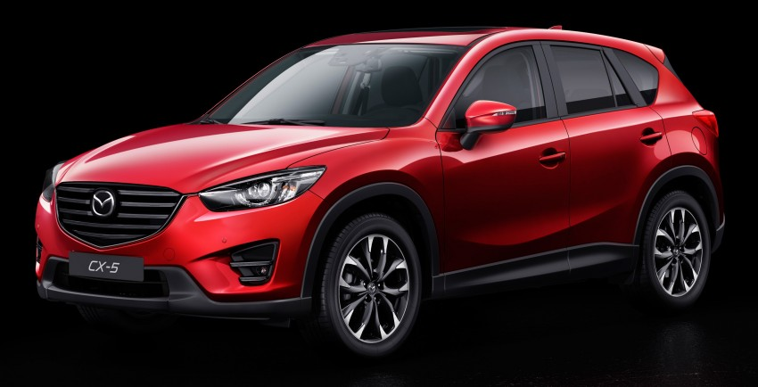 Mazda CX-5 facelift appears at LA with minor upgrades Image #289651