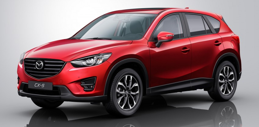 Mazda CX-5 facelift appears at LA with minor upgrades Image #289653