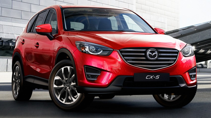 Mazda CX-5 facelift appears at LA with minor upgrades Image #289641