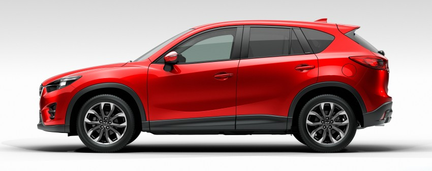 Mazda CX-5 facelift appears at LA with minor upgrades Image #289648