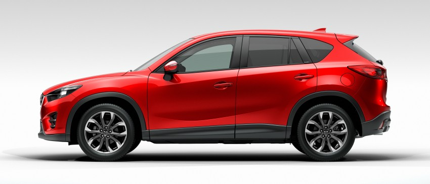 Mazda CX-5 facelift appears at LA with minor upgrades Image #289650