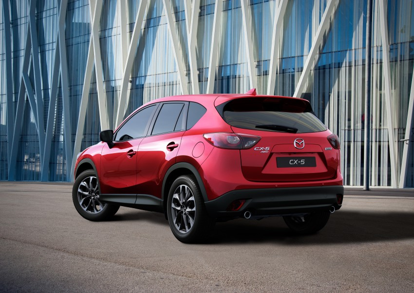 Mazda CX-5 facelift appears at LA with minor upgrades Image #289646