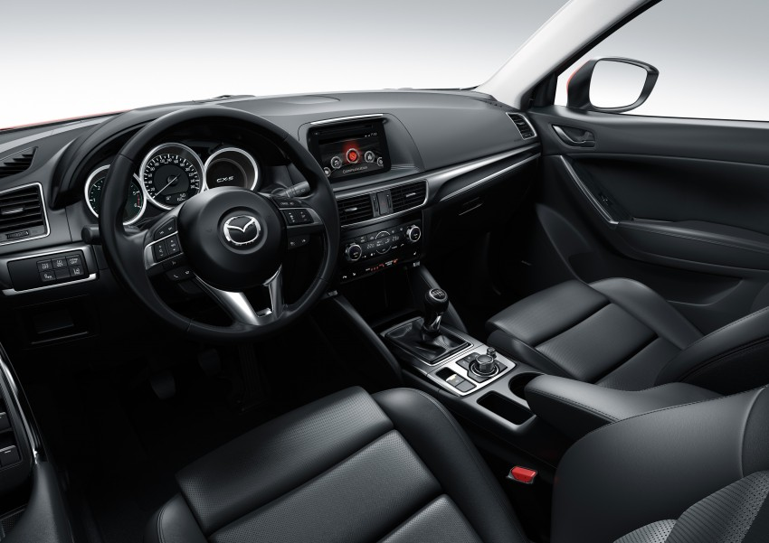 Mazda CX-5 facelift appears at LA with minor upgrades Image #289647