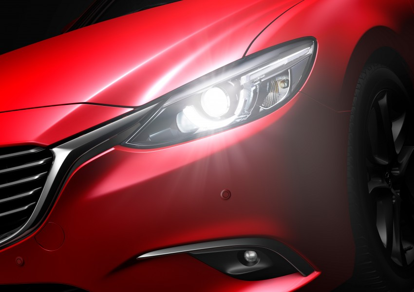 Mazda 6 facelift unveiled at the 2014 LA motor show Image #289576