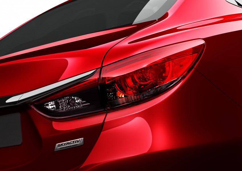 Mazda 6 facelift unveiled at the 2014 LA motor show Image #289582