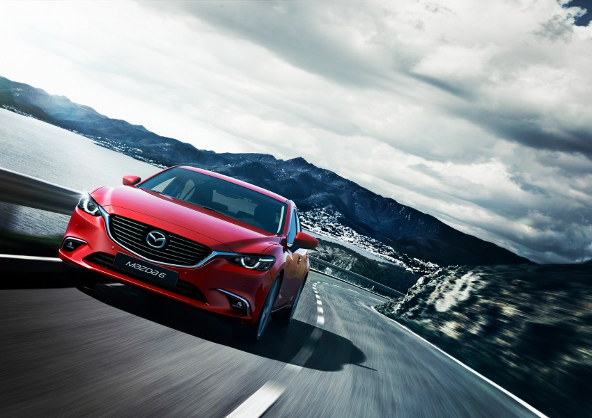 Mazda 6 facelift unveiled at the 2014 LA motor show Image #289539