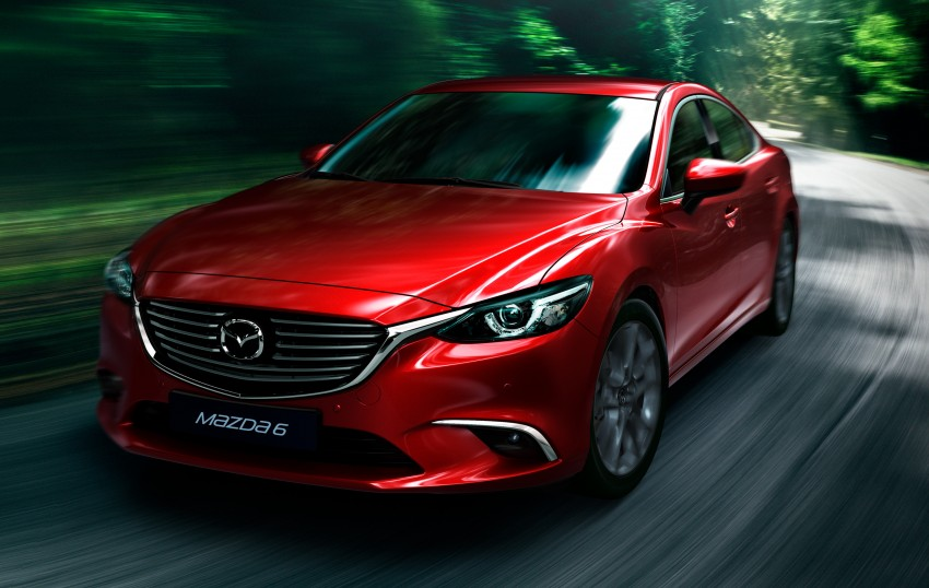 Mazda 6 facelift unveiled at the 2014 LA motor show Image #289540