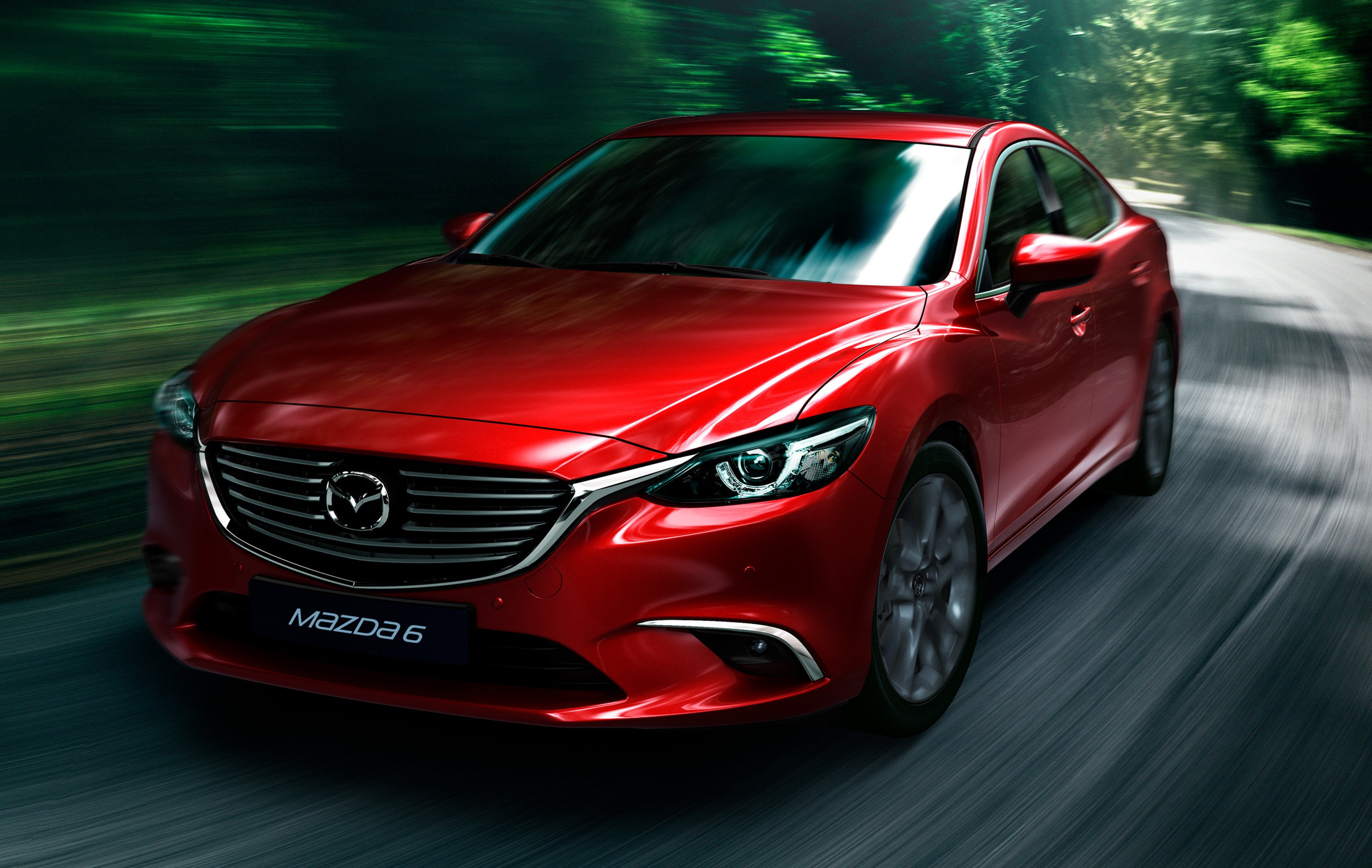 Mazda 6 facelift unveiled at the 2014 LA motor show Image ...
