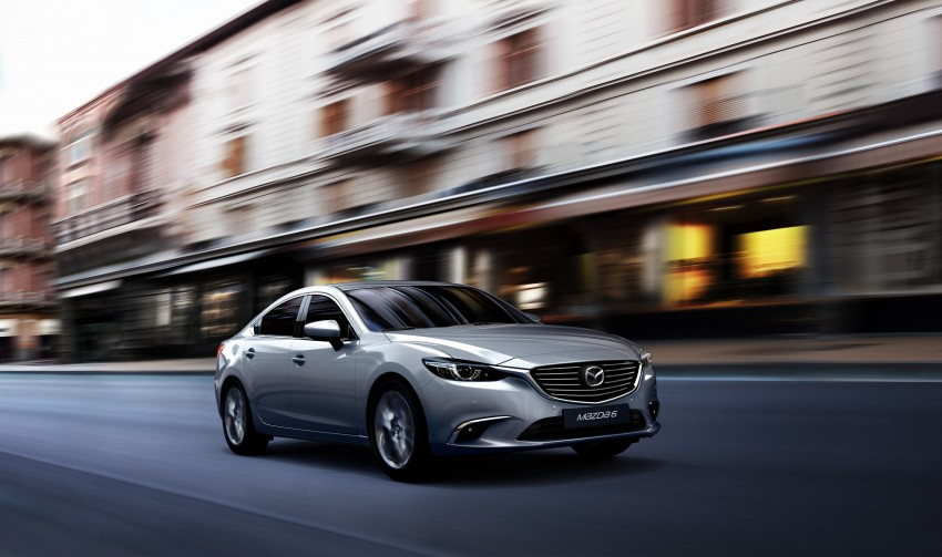 Mazda 6 facelift unveiled at the 2014 LA motor show Image #289545