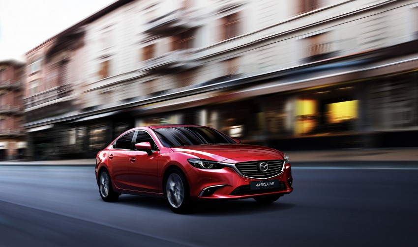 Mazda 6 facelift unveiled at the 2014 LA motor show Image #289542