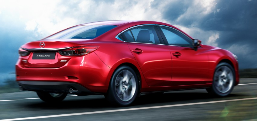 Mazda 6 facelift unveiled at the 2014 LA motor show Image #289547