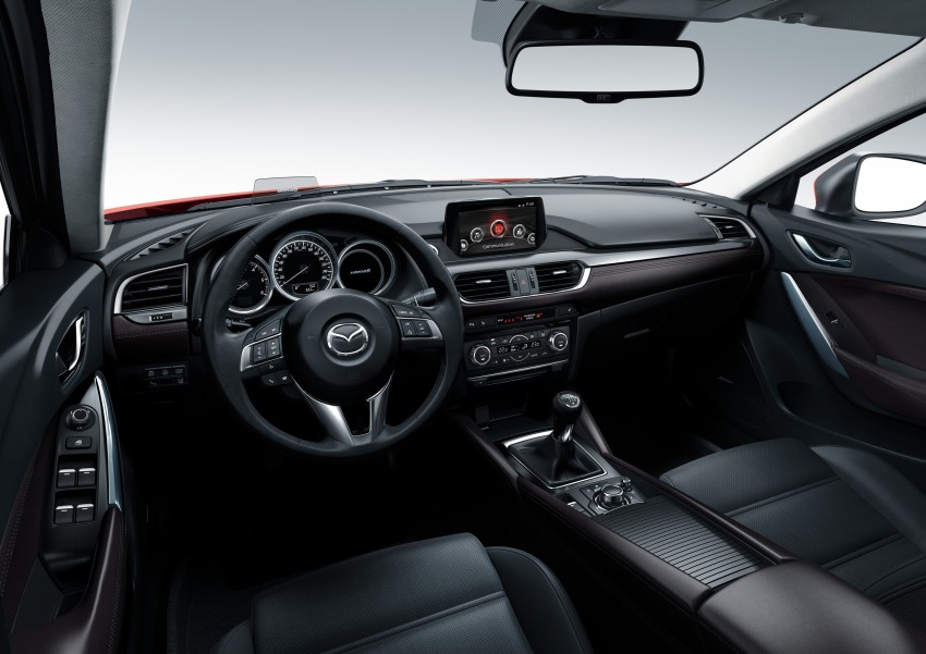 Mazda 6 facelift unveiled at the 2014 LA motor show Image #289567