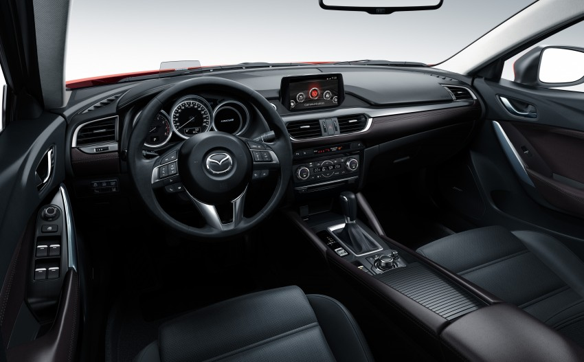 Mazda 6 facelift unveiled at the 2014 LA motor show Image #289568