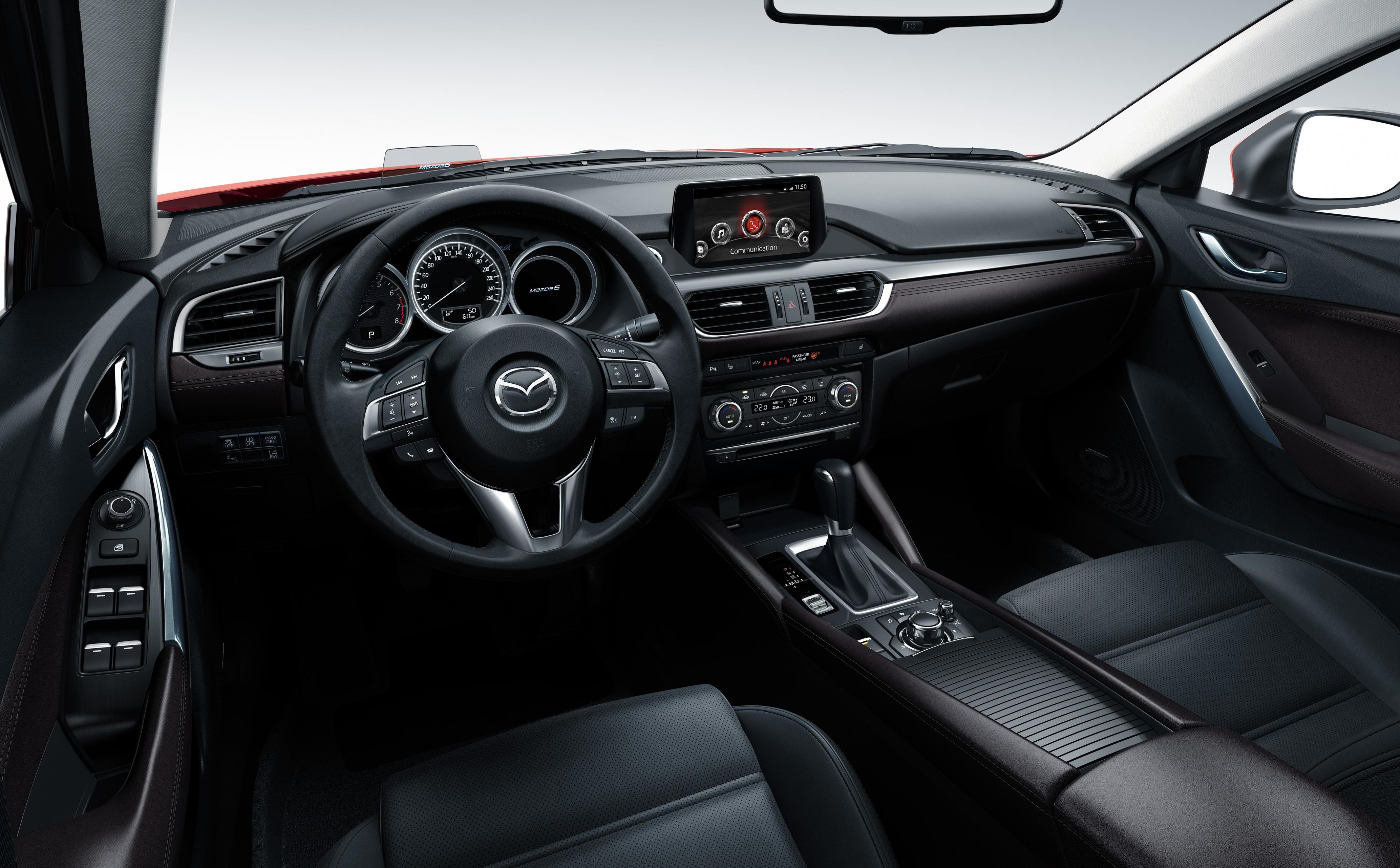 mazda 6 2016 facelift. mazda 6 facelift unveiled at the 2014 la motor show image 289568 2016 o
