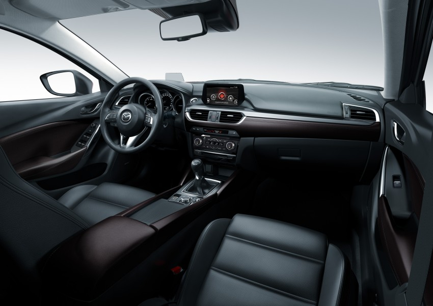 Mazda 6 facelift unveiled at the 2014 LA motor show Image #289571