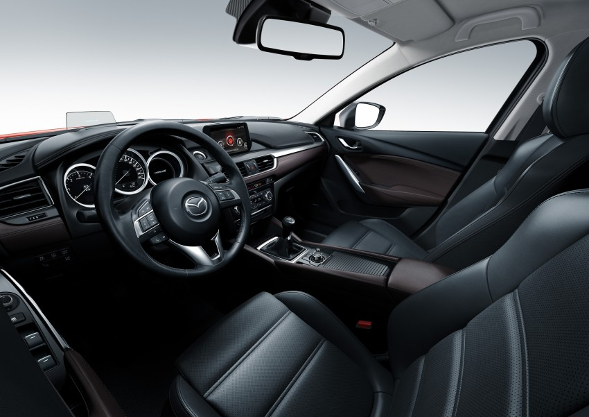 Mazda 6 facelift unveiled at the 2014 LA motor show Image #289572