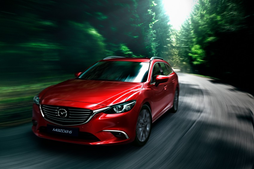 Mazda 6 facelift unveiled at the 2014 LA motor show Image #289546