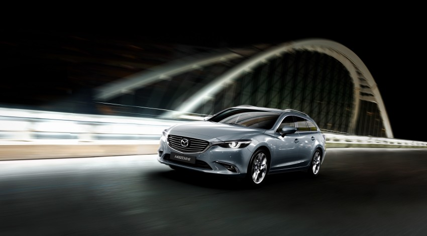 Mazda 6 facelift unveiled at the 2014 LA motor show Image #289541