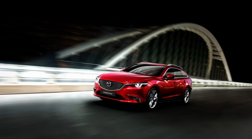 Mazda 6 facelift unveiled at the 2014 LA motor show Image #289543