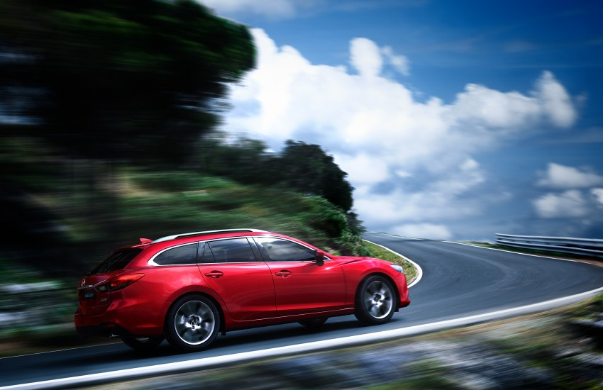 Mazda 6 facelift unveiled at the 2014 LA motor show Image #289550