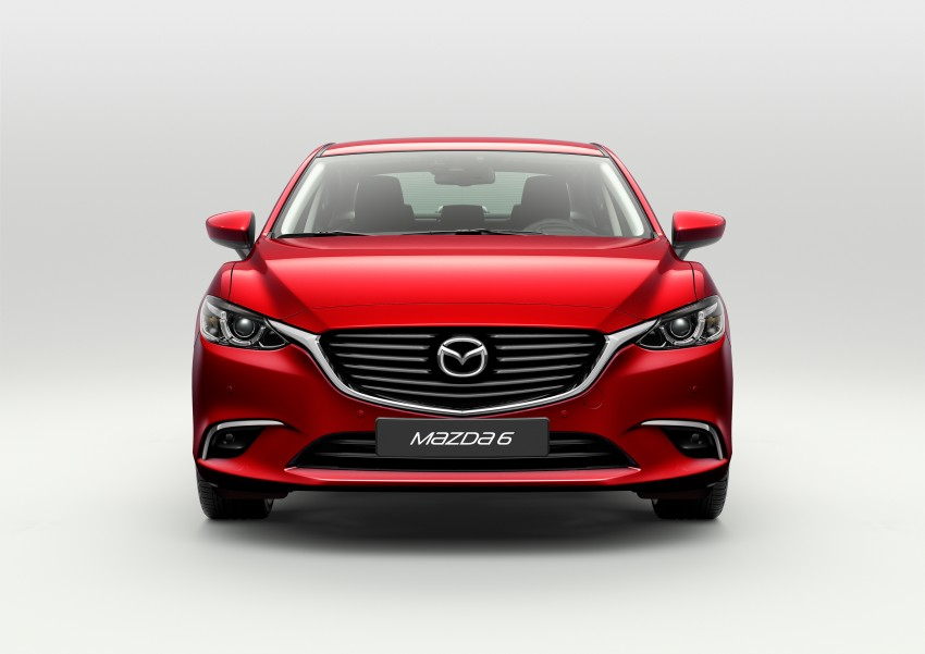 Mazda 6 facelift unveiled at the 2014 LA motor show Image #289544