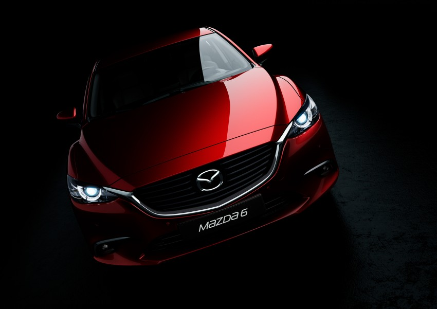 Mazda 6 facelift unveiled at the 2014 LA motor show Image #289557