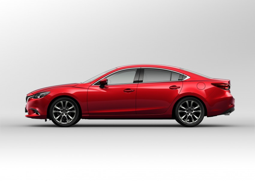 Mazda 6 facelift unveiled at the 2014 LA motor show Image #289560