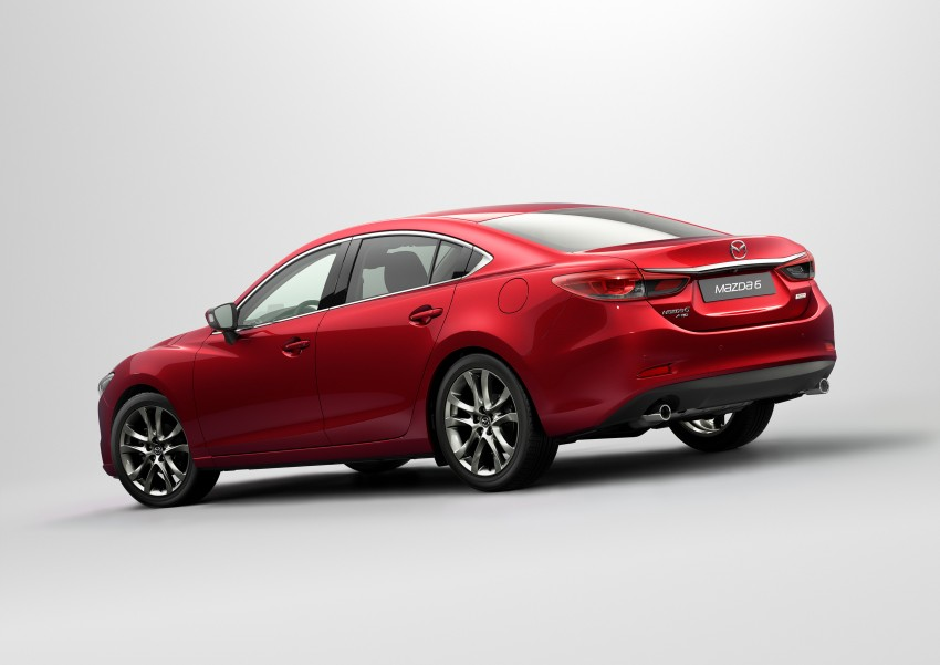 Mazda 6 facelift unveiled at the 2014 LA motor show Image #289561